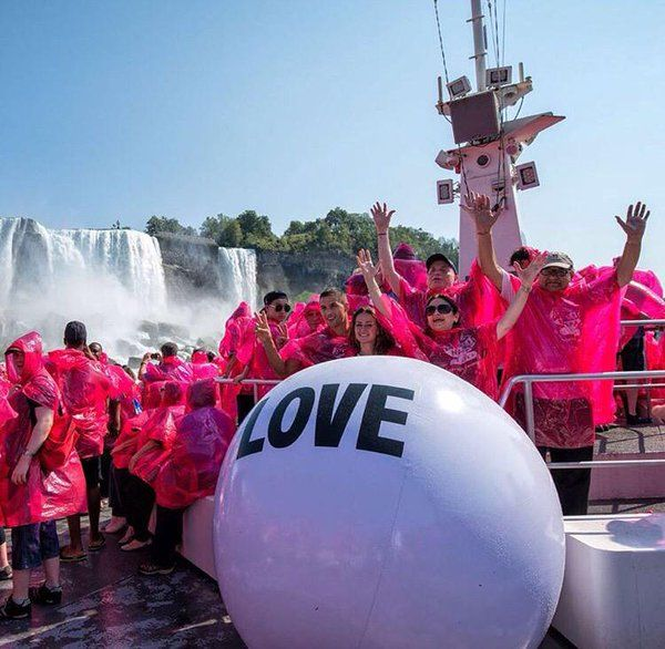 The Love Ball is a celebrity in our eyes! The ball has travelled around United States and Canada and has posed as giant love letter to those who choose to show their love off to the world.