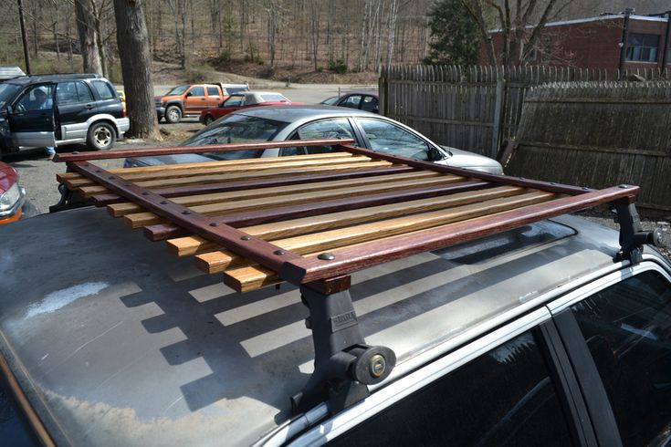 F34R's wooden roof rack(finished/installed) - R3VLimited Forums