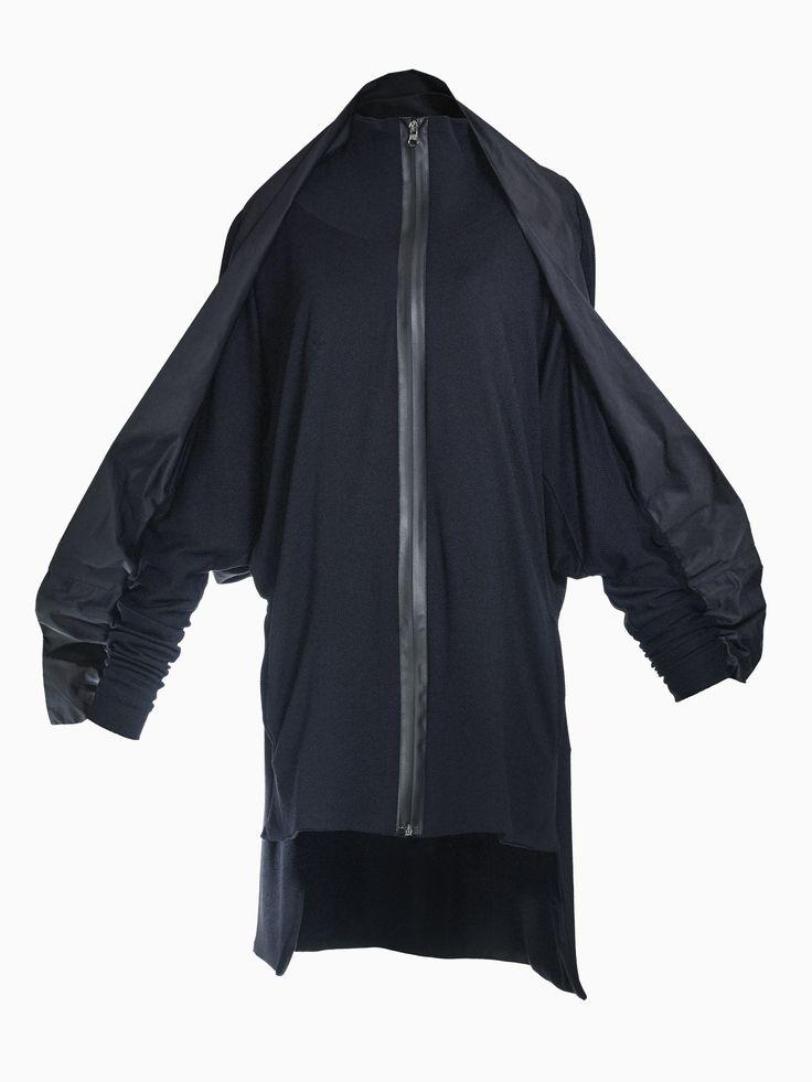 Lycra Jacket With Zipper • HANA ZARUBOVA