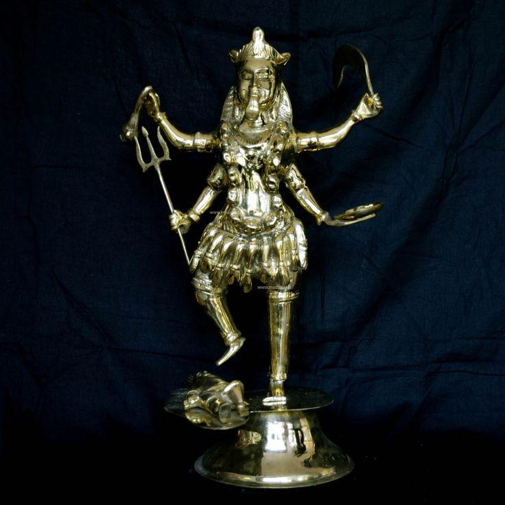 Brass Statue 22-Sohon Kali God