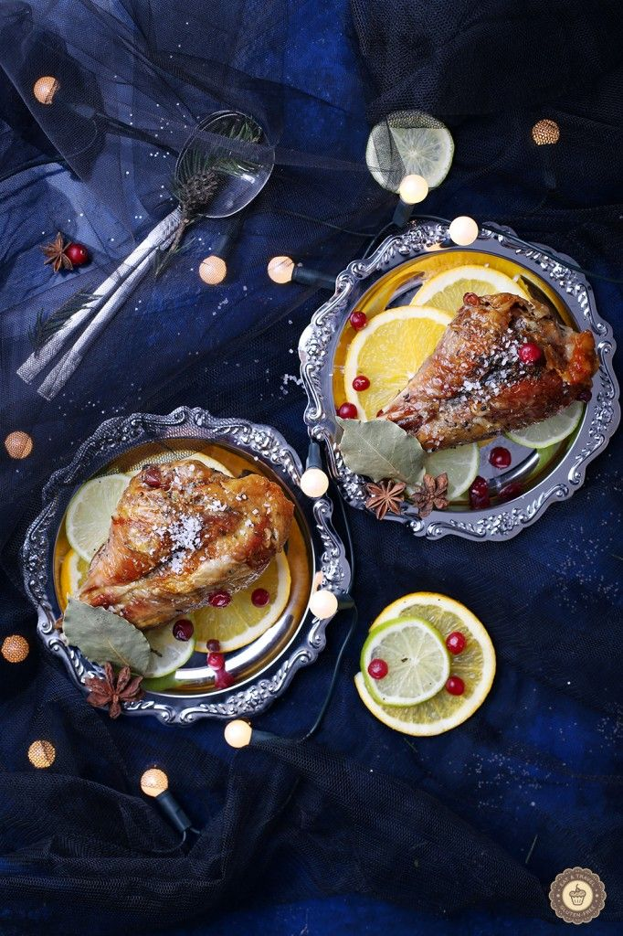 Eat & travel | Roasted turkey drumsticks with oranges and anise