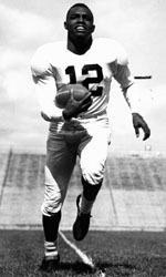 "Penn State - Wallace ""Wally"" Triplett extraordinary football career: He became the first African-American to start and earn a varsity letter on a Penn State Nittany Lion team in 1946. His name is still securely embedded in Penn State and NCAA history, in 1948, Triplett became the first African-American to play in the Cotton Bowl Classic, catching the tying touchdown in Penn State's 13-13 tie with Southern Methodist University."