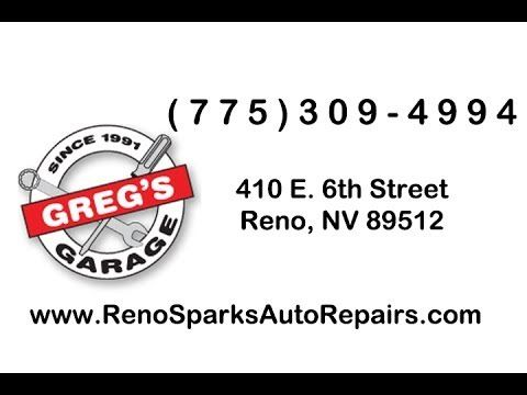 http://www.renosparksautorepairs.com/ Greg's Garage has been voted the best auto repair shop in Reno for 5 years in a row -- a testimony of our commitment to expert auto service with exceptional customer service. From old classics to our modern computers on wheels, we service all makes and models of foreign and domestic cars, trucks, SUVs, hybrids, diesels, motorhomes and more. For dependable, affordable auto service and auto repair in Reno, call Greg's Garage at (775) 309-4994 today.
