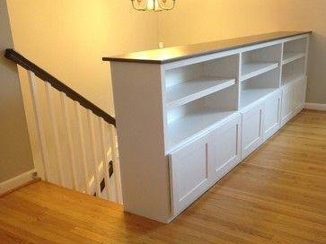 Custom Cabinetry - craftsman - Living Room - Dc Metro - Miller Home Improvements, Inc. #kitchensremodel