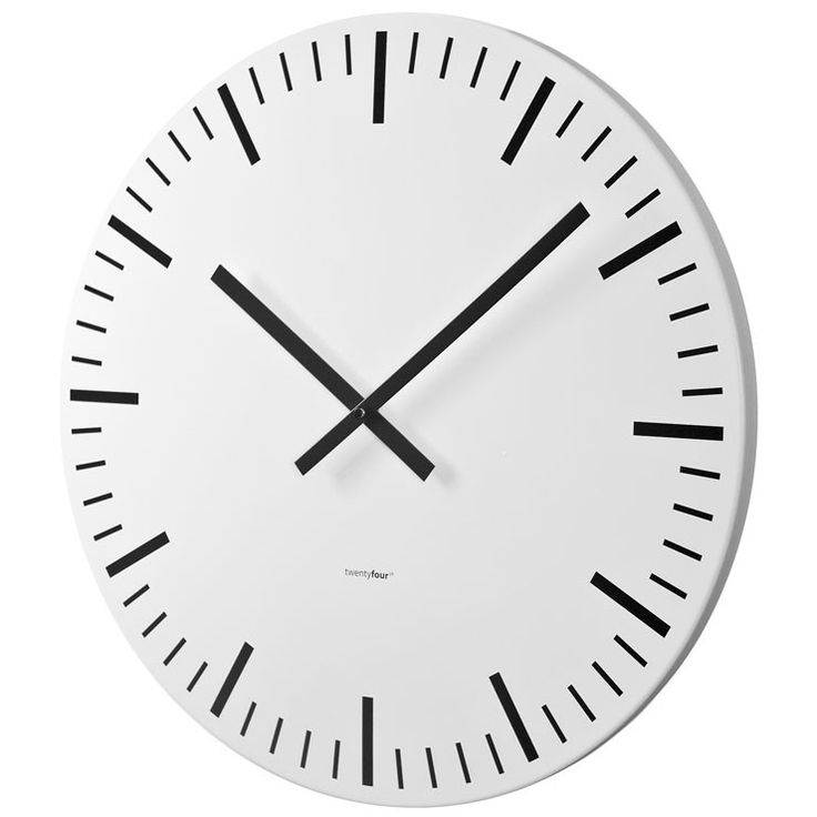 Les 25 meilleures id es de la cat gorie grandes horloges - Grande horloge murale blanche ...
