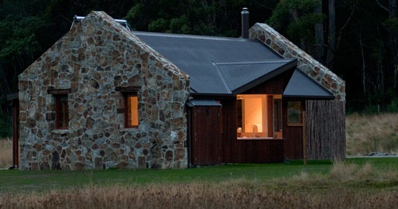 The Adventure Bay Retreat Cottage, Bruny Island, is a luxurious yet cosy Boutique Accommodation experience.