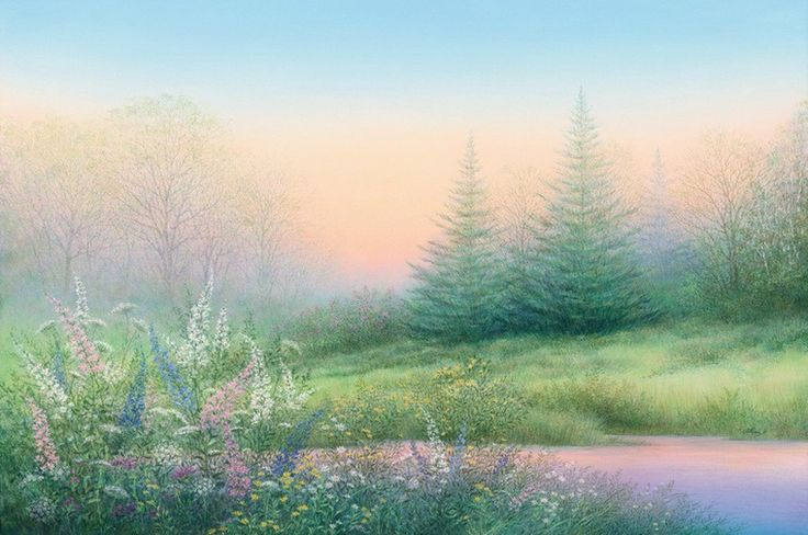 С большим удовольствием хочу познакомить вас с творчеством замечательного живописца Арнольда Аланиза. Бесконечно нежные, романтичные пейзажи этого талантливого художника завораживают мягким сиянием и тонкой цветовой палитрой. Арнольд родился в штате Техас в 1943 году. Закончил Университет штата Висконсин в Мэдисоне, где получил степень бакалавра наук и магистра изобразительных искусств.