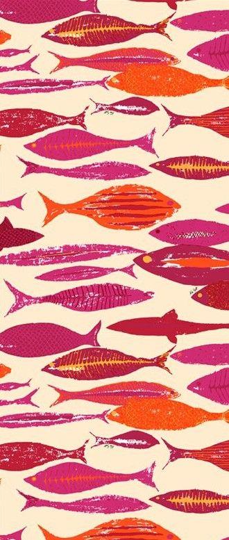 Ken Scott Portofino Red fish