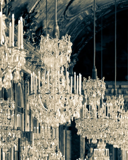 Hall of Mirrors, Versailles...Two more months and I'll be there!