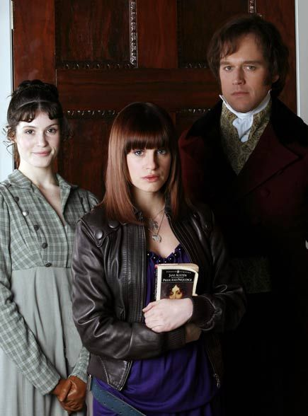 Lost in Austen / Elizabeth Bennet, Amanda Price, and Fitzwilliam Darcy- The characters in this movie are NOTHING like you know them to be.