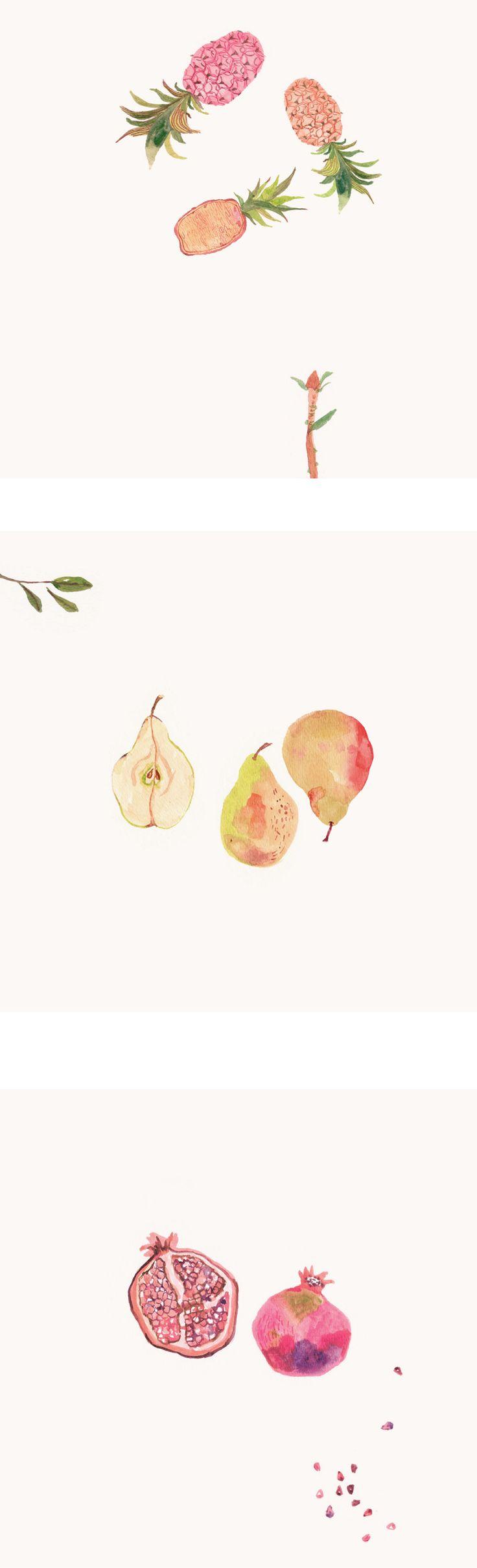 Miji Lee - Pineapples, Pears & Pomegranates