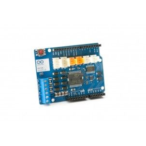 The Arduino Motor Shield is based on the L298, which is a dual full-bridge driver designed to drive inductive loads such as relays, solenoids, DC and stepping motors. #Arduino #ArduinoMotorShieldRev3 #Philippines http://www.dynamodo.com/robotics/robotics-drivers/shields-arduino-motor-shield-rev3.html