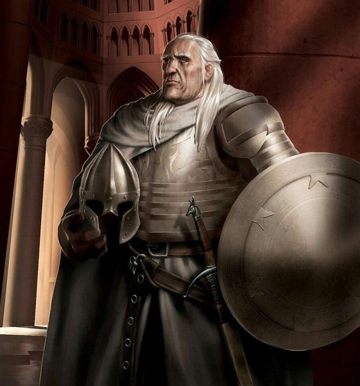 Art: Ser Barristan Selmy by Romain Leguay.