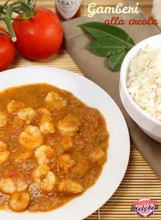 Gamberi alla creola, Shrimp Creole, #cajun #Nola, New Orleans, Tabasco, #Shrimp