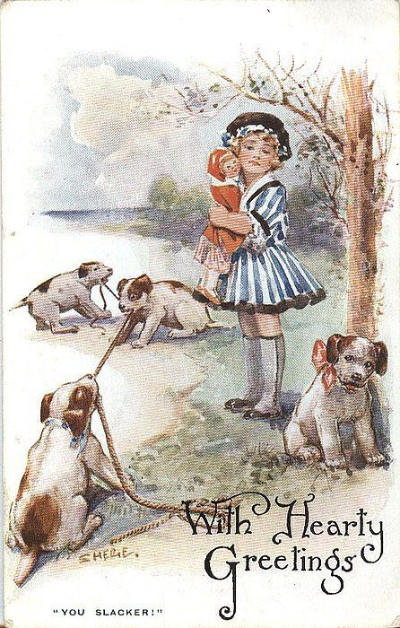 Винтажные открытки англии
