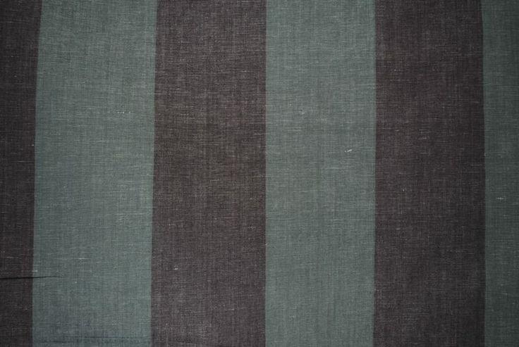 Lawton Stripe Winter linen/cotton blend - 137cm