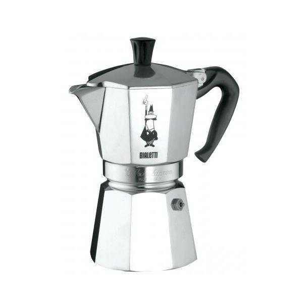 Bialetti Moka Express 6 kopper, espressokande