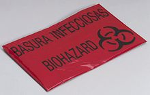 "@ShopAndThinkBig.com - Red Liners, Low Density Are Perfect For Institutions With A Bilingual Staff: Printed With The Universal Biohazard Symbol And ""infectious Waste"" In English And Spanish. High Performance, Super Strong X-Seal Bag Is Designed Without Gussets. Bag Conforms To Container's Shape And Distributes The Weight Of The Refuse Evenly Around The Bag. Helps Eliminate Leakage Problems. Latex Free. 24""x24"", 1.2 Mil, 10 Gallon Capacity.……"