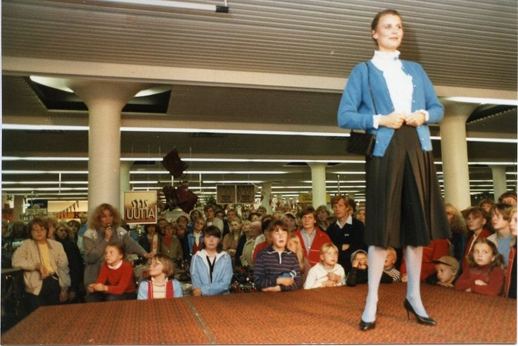 Miss Suomi 1975 Anne Pohtamo, Osuuskauppa Suur-Savon muotinäytös  #misssuomi #MissUniverse
