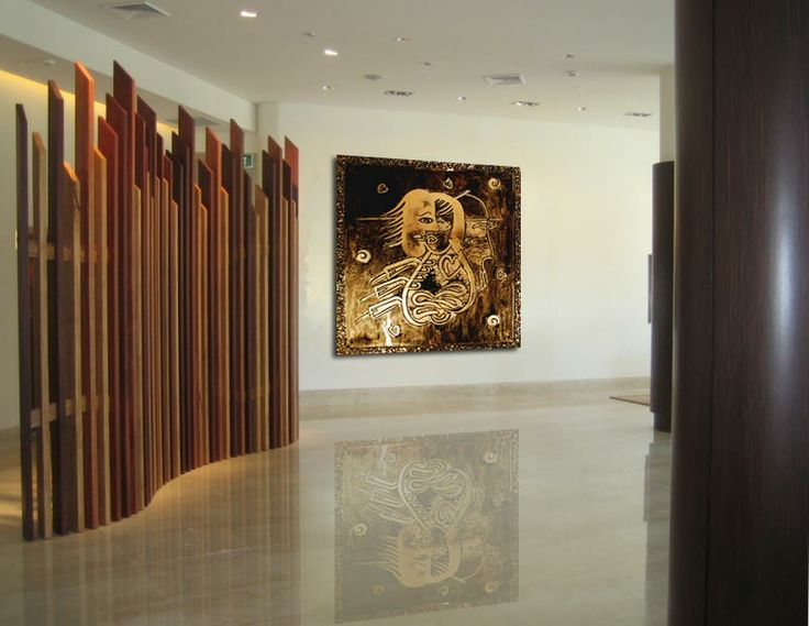 Glass art for Hotel Lobby - Voodoo Glass, Gold Coast - http://www.voodooglass.com.au