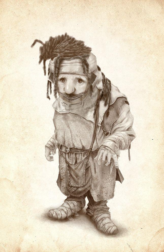 Fantasy character - by Claudio Prati