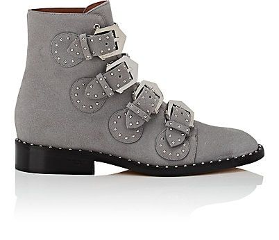 2c922b789 We Adore: The Elegant Studded Suede Ankle Boots from Givenchy at Barneys New  York