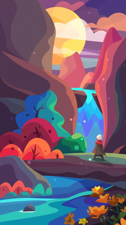 Abenteuer Illustration Illustration Grafikdesign Illustration Galaxie Malerei