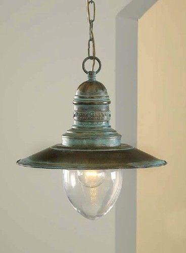 Fredeco Nautical Pendant mediterranean pendant lighting #vintagebeachhousedecor