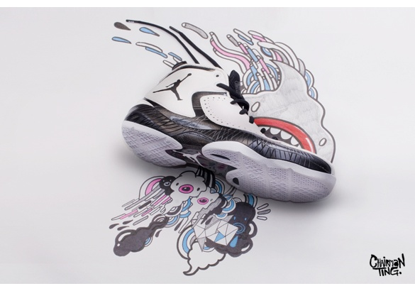 Air Jordan 2012 by Chairman Ting