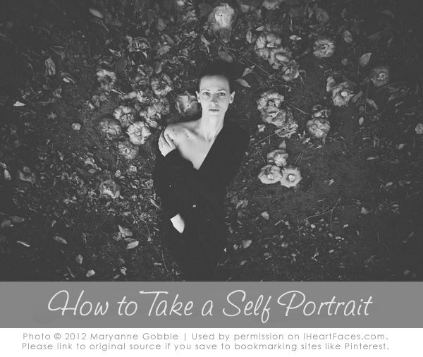 How to Take a Self Portrait {Photography Tips}
