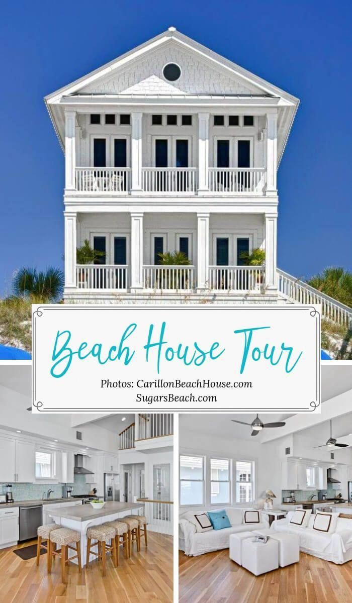 Beach House Tours At Sugarsbeach Beach Cottages Decor Ideas And Awesome Beach House Decorating Ideas At Beach House Decor Beach House Tour Beach Cottage Decor