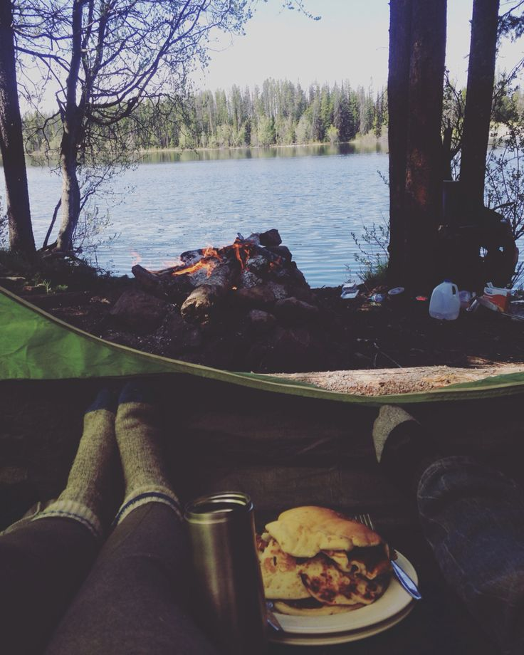 Photo by shanea asling  #camping And a pancake Breaky in bed