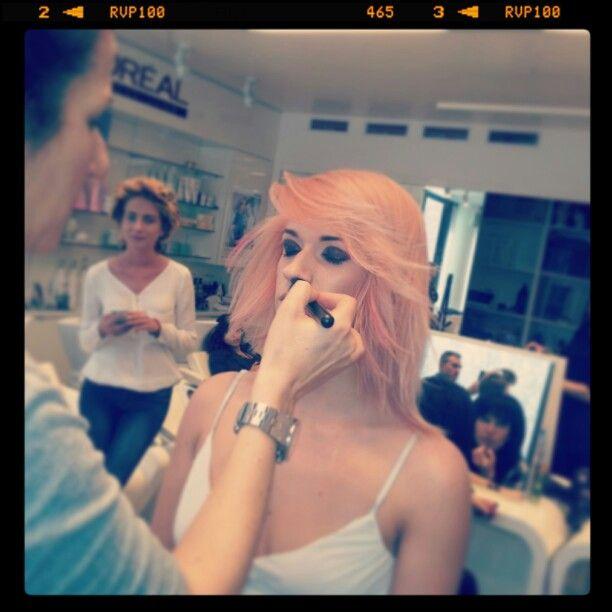DIA RICHESSE  L'Oréal #colorhair #pink