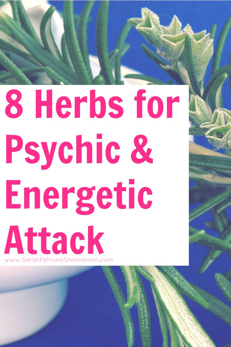 Due to the ease and frequency that psychic attacks get sent out, it is important to have yourself protected. One of the multiple ways you can do that is through the use of herbal remedies. Here are 8 Herbs To Protect You From Psychic & Energetic Attacks.