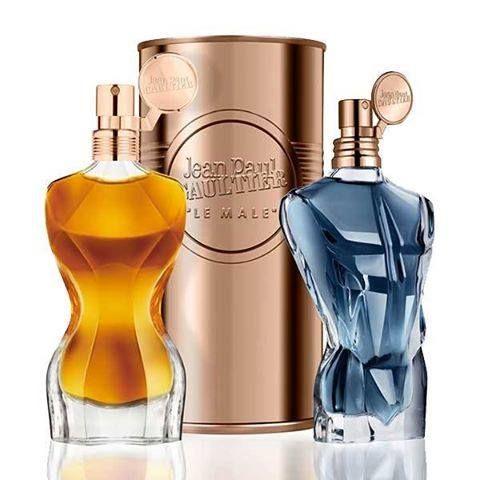 As novas fragrâncias para Mulher e Homem de Jean Paul Gaultier: Le Male and Classique - Les Essences de Parfum