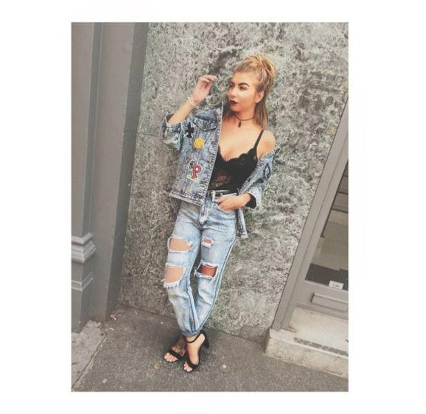 Love Island's Olivia Buckland wearing head-to-toe Lasula Boutique, Essex, 28th…
