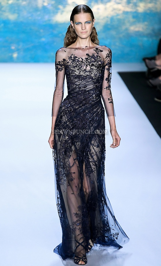 Monique Lhuillier 2013  #fashion #gown