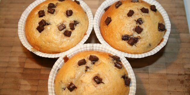 Lækre og luftige muffins uden æg