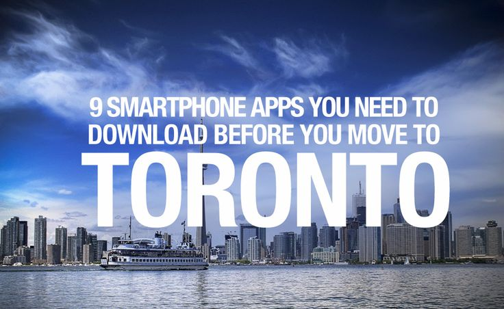 9 smartphone apps you need to download before you move to Toronto