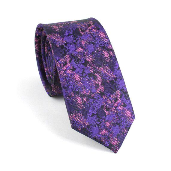 Stunning Purple Metallic Tie For Men Perfect For Work Weddings And Special Occasions Handmade From 100 Premium Neckwear Fashion Mens Neck Ties Neck Tie