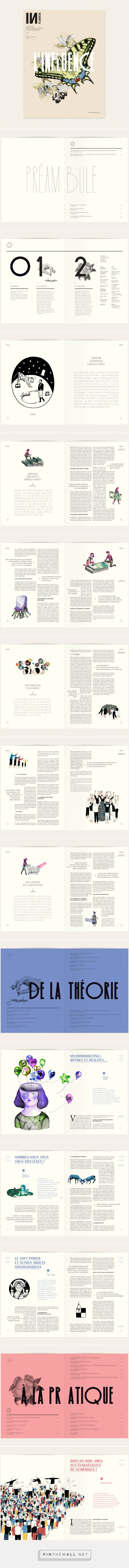 Influencia n°13 on Behance - created via http://pinthemall.net