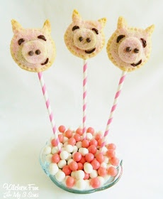 Piggy Pie Pops