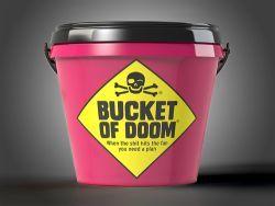 Bucket of Doom társasjáték - Szellemlovas társasjáték webshop