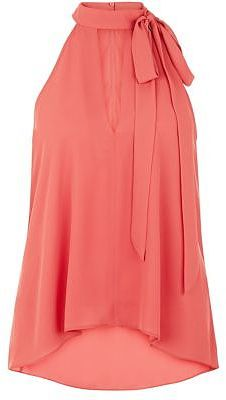 Womens coral blouse from New Look - £17.99 at ClothingByColour.com