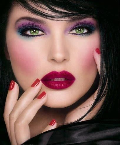 #red #lips #lipstick #makeup #passion #trendy