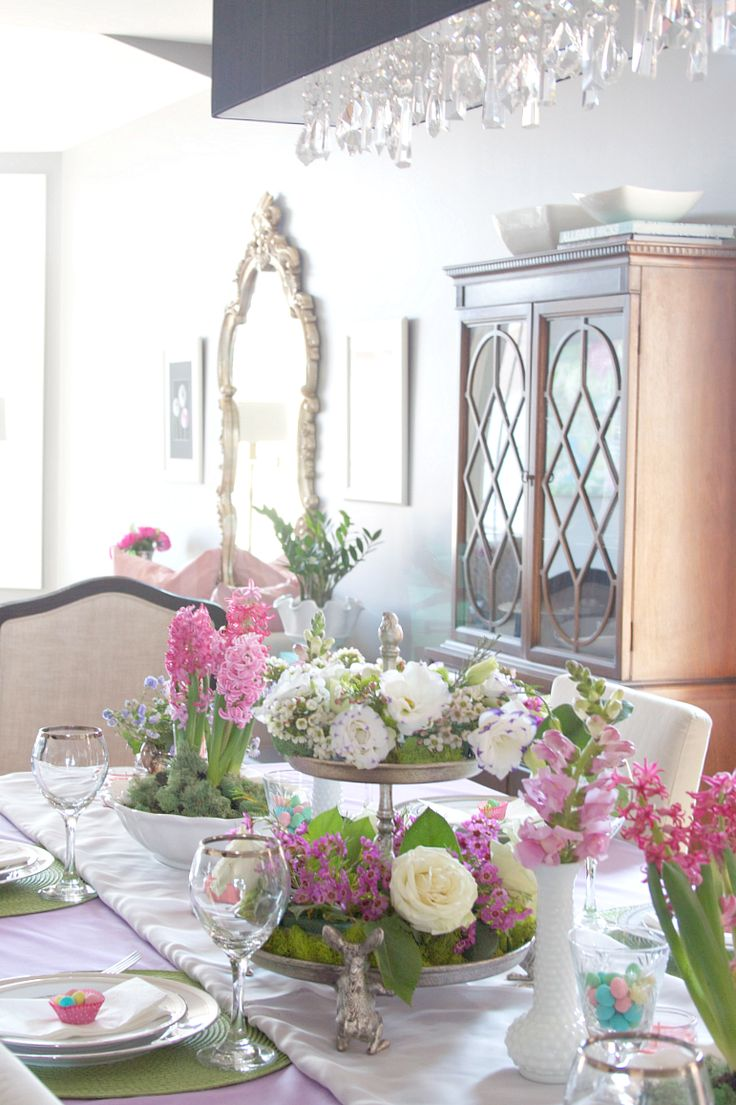 Tablescape Ideas 85 Best Easter  Tablescapes Images On Pinterest  Easter Ideas