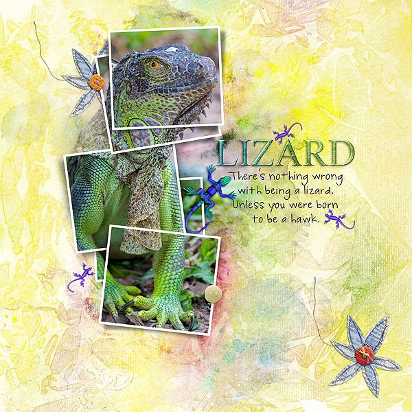 All product by Dawn Inskip and all are 50% off today only Clay Buttons http://the-lilypad.com/store/Clay-Buttons.html  Lizards Return http://the-lilypad.com/store/Lizards-Return.html  Contagious MM Papers http://the-lilypad.com/store/Contagious-Mi...dia-Papers.html  Safari Stitched News http://the-lilypad.com/store/Safari-Stitched-News.html