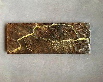 Electric Green Lichtenberg on cutting board
