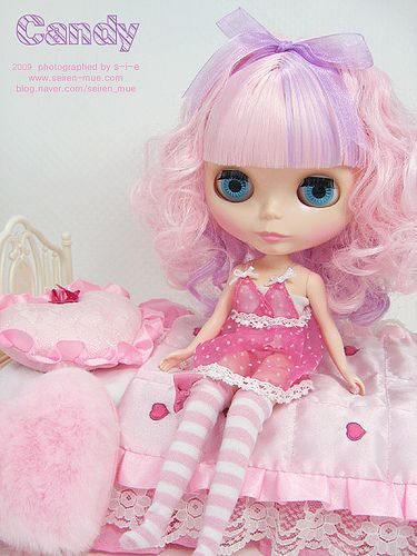 Blythe - My Little Candy by Seiren Mue, via Flickr