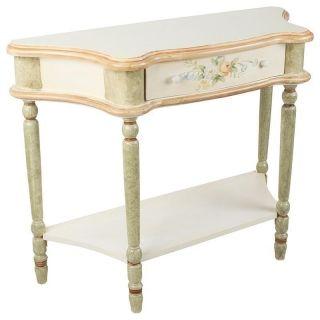 """Consolă """"Musette"""" - Consolă cu aer rustic franţuzesc, prevăzută cu sertar pentru scrisori de dragoste."""